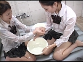 Horny Asian Lesbians Love To Play With Each Other - Scene 3