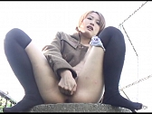 Horny Asian Bitches Showing Off In Public - Scene 3