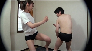 Asian Couples Filming Their Wild Sexy Fight - Scene 5