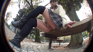 Naughty Asians Hotties Are Showing Their Pussies In Public - Scene 9