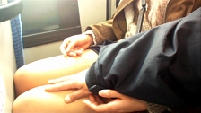 Asian Whores Love To Be Touched In Public Transportation - Scene 5