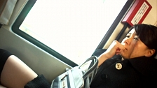 Asian Whores Love To Be Touched In Public Transportation - Scene 6
