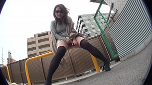 Peeing And Touching In Public Makes Them Very Horny - Scene 1