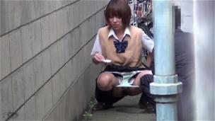 Urinating In My School Uniform - Scene 3