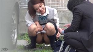 Urinating In My School Uniform - Scene 7