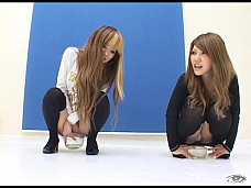 Asian Hotties Peeing In A Cup - Scene 6