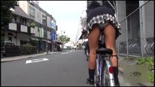 Flashing My Panties Riding My Bike - Scene 4