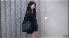 Awesome Asian Honies Leaking In Public - Scene 2