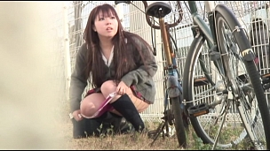 Awesome Asian Honies Leaking In Public - Scene 3