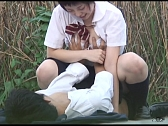 Asians Get Nasty Outdoors - Scene 2