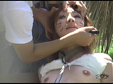 Taking His Slutfriend For A Walk - Scene 1