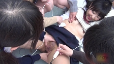 Spicy Lesbian Toy Fun Outdoors - Scene 3