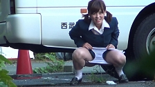 Urination Of Co-Eds In Tokyo - Scene 11