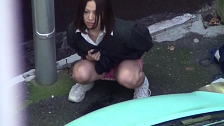 Urination Of Co-Eds In Tokyo - Scene 9