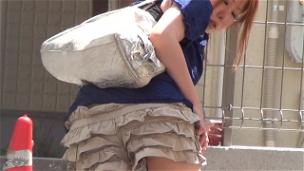 Soaking My Panties Outdoors - Scene 7