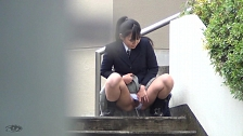 Spraying Piss In Public - Scene 2