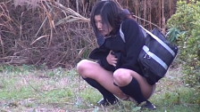 Spraying Piss In Public - Scene 5