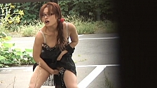 Horny Asian Chicks Getting Horny In Public - Scene 4