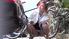 Teen Asian Sluts Peeing In Public - Scene 3