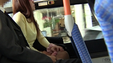 Asian Whores Love To Be Touched In Public Transportation - Scene 8