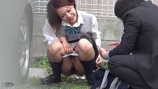 Urinating In My School Uniform - Scene 7