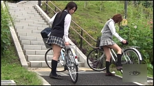 Flashing My Panties Riding My Bike - Scene 2