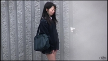 Awesome Asian Honies Leaking In Public - Scene 2
