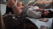 Jill Off Beside A Friend - Scene 9