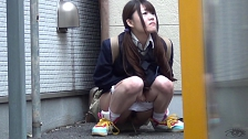 Urination Of Co-Eds In Tokyo - Scene 8