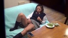 College Slut Can't Stop Masturbating - Scene 4