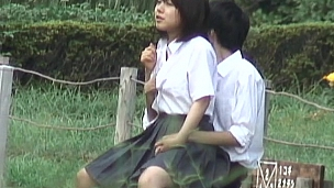 Asians Get Nasty Outdoors - Scene 1